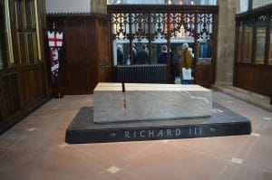 Richard 111 Tomb in Leicester Cathedral